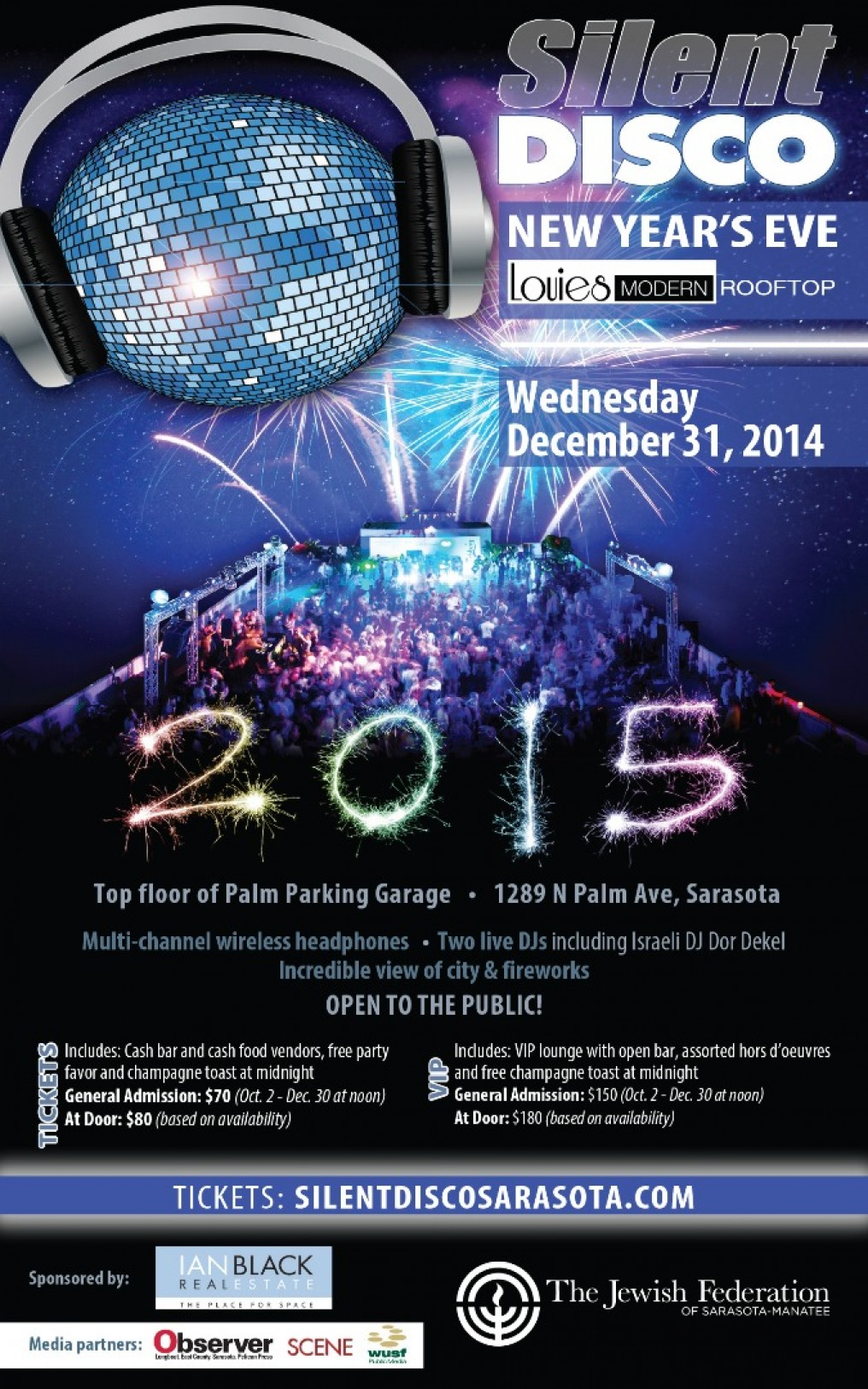 Silent Disco New Year's Eve Party in Sarasota, Florida