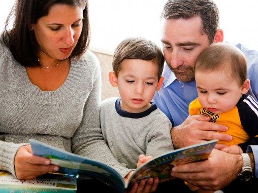 PJL Family reading children FEATURE