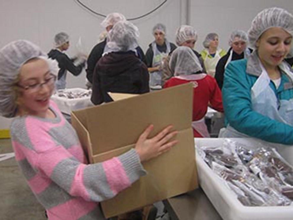 Shaarie Torah Youth Group Volunteering