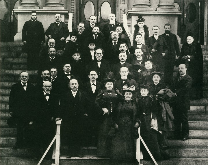 Men and women in the early days of the Union for Reform Judaism, founded in Cincinnati