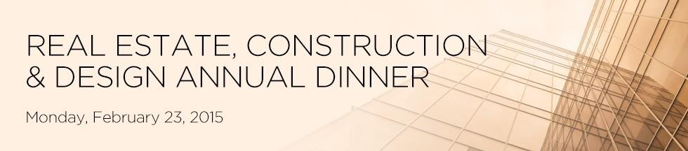 Real Estate Calendar Design : Real estate construction design annual dinner