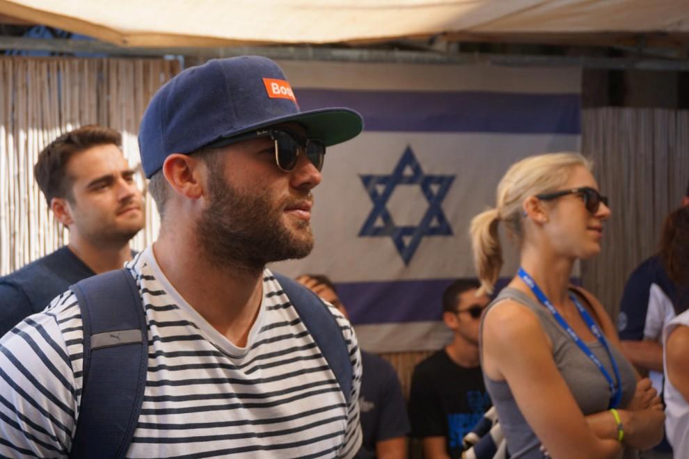 Yalla! Exploring Israel with the Patriots' Julian Edelman