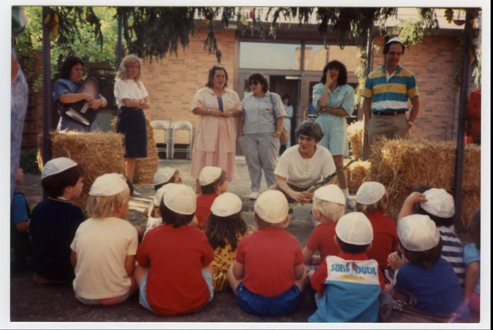 ajcc preschool 1988 ajcc preschool visit heska amuna at sukkot the 832