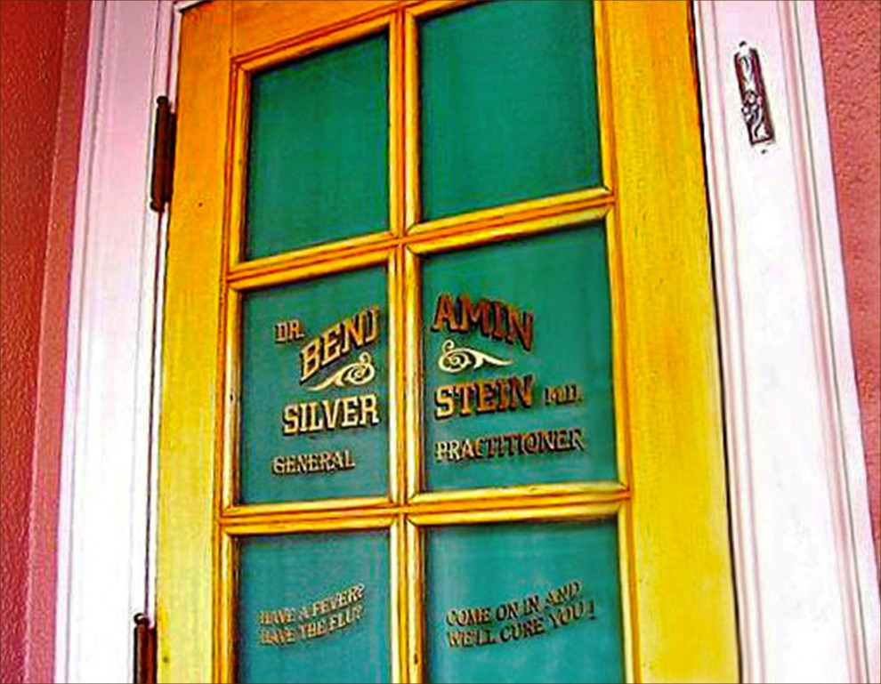 On the west side of Disneyland\u0027s Main Street nestled in a nook between the Crystal Arcade and New Century Jewelry is a door with a mezuzah inscribed with ... & A Mezuzah and a Menorah on Main Street | Jewish Federation \u0026 Family ...