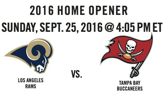 Image result for Los Angeles Rams vs. Tampa Bay Buccaneers