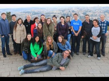 CIJA mission - Group of People in Israel - JFC-UIA 2015 Annual Report
