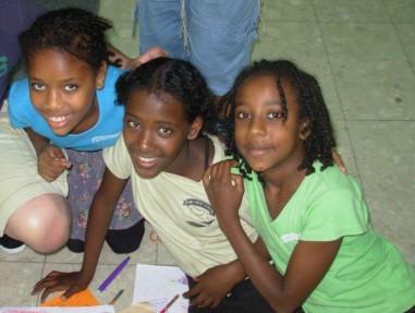 Ethiopian children in Bat Yam Israel