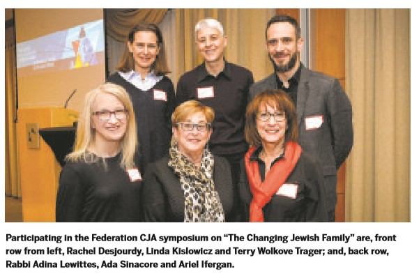 Linda Kislowicz and colleagues pictured in Canadian Jewish News