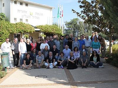 Group of Adults in Israel  - Coast-to-Coast - Galilee Panhandle  Joint Steering Committee