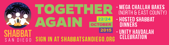 together again - shabbat san diego
