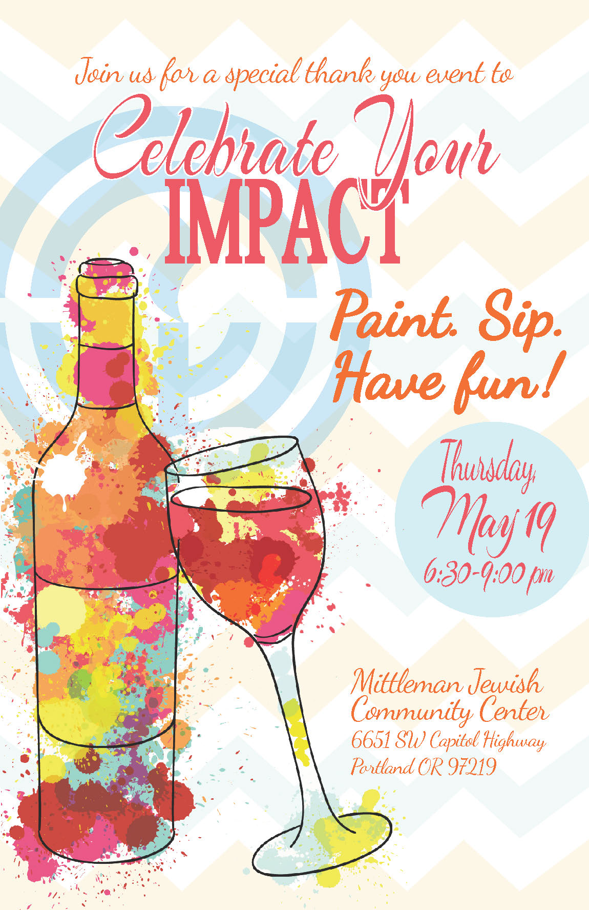 IMPACT:  A thank you event for women