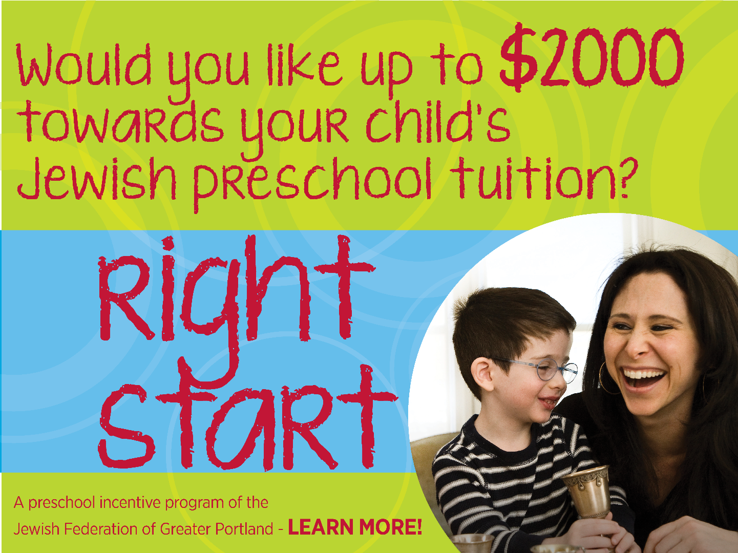 Jewish Preschool Right Start
