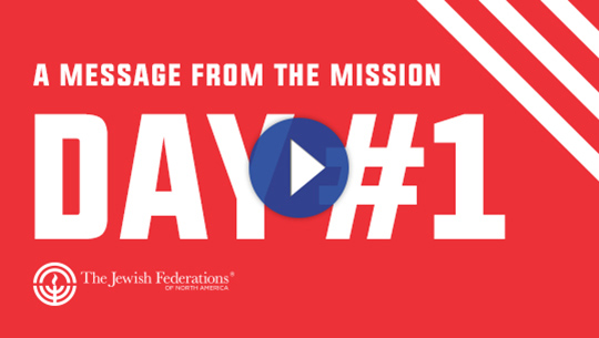 A MESSAGE FROM THE MISSION DAY #1