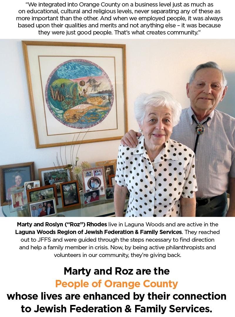 Meet Marty & Roz Phodes